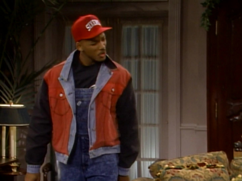 Starter Sixers Red Cap Worn by Will Smith in The Fresh Prince of Bel-Air S01E06 (1)
