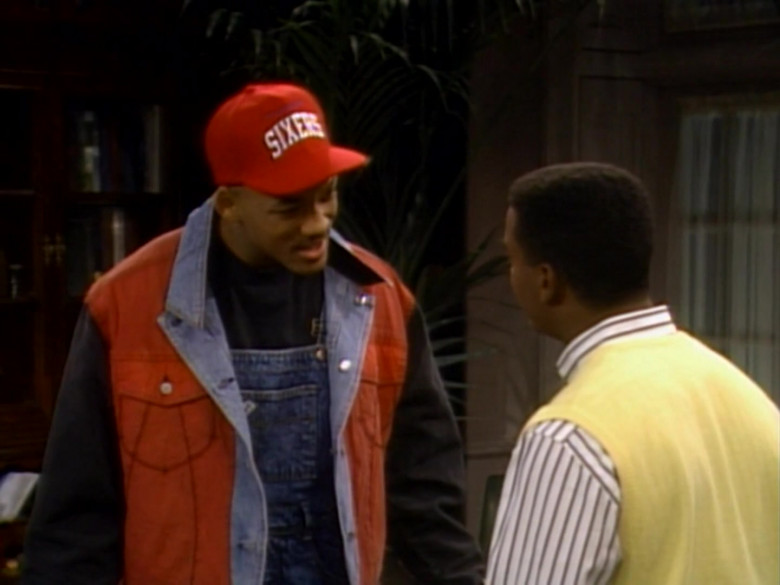 Starter Sixers Red Cap Worn by Will Smith in The Fresh Prince of Bel-Air S01E06 (3)