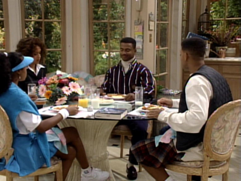 Tatyana M. Ali as Ashley Banks Wears Nike Shoes in The Fresh Prince of Bel-Air S04E04 TV Show