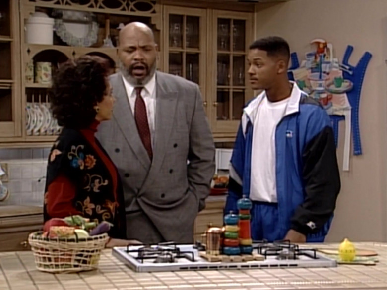 The Fresh Prince of Bel-Air Outfits – Starter Blue/Black Tracksuit Worn by Will Smith (2)
