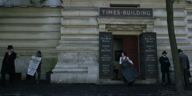 The New York Times Newspaper Building in The Alienist S02E01 TV Show