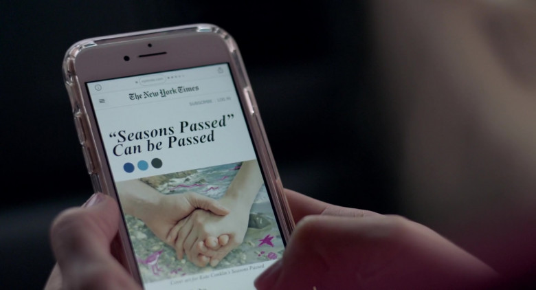 The New York Times Website in I Used to Go Here (2020)