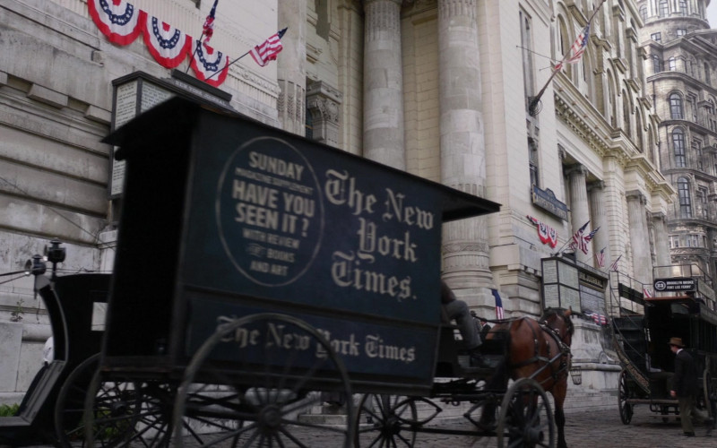 The New York Times in The Alienist S02E02 Something Wicked