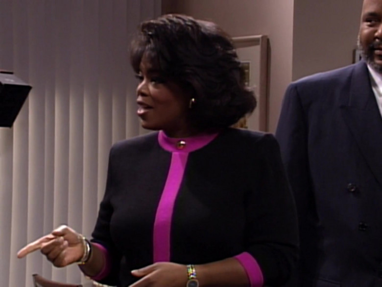 The Oprah Winfrey Show in The Fresh Prince of Bel-Air S03E09 TV Show (3)