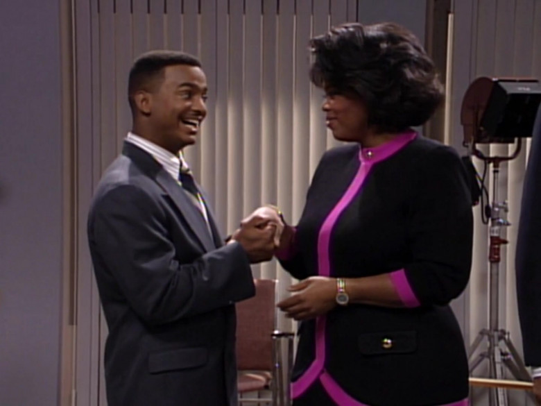 The Oprah Winfrey Show in The Fresh Prince of Bel-Air S03E09 TV Show (4)