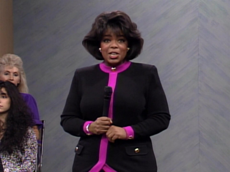 The Oprah Winfrey Show in The Fresh Prince of Bel-Air S03E09 TV Show (7)