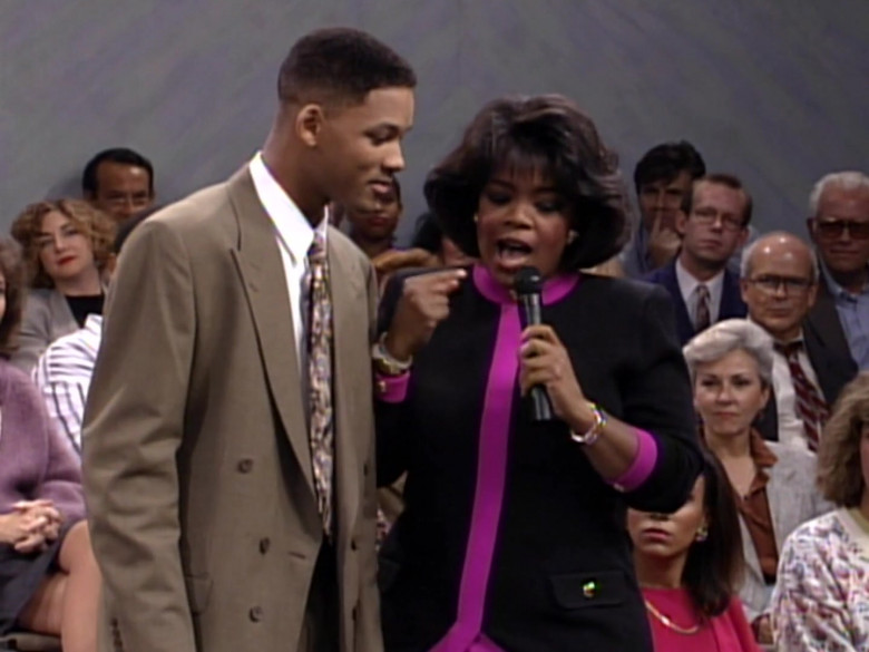 The Oprah Winfrey Show in The Fresh Prince of Bel-Air S03E09 TV Show (8)