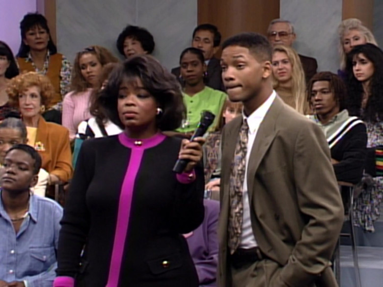 The Oprah Winfrey Show in The Fresh Prince of Bel-Air S03E09 TV Show (9)