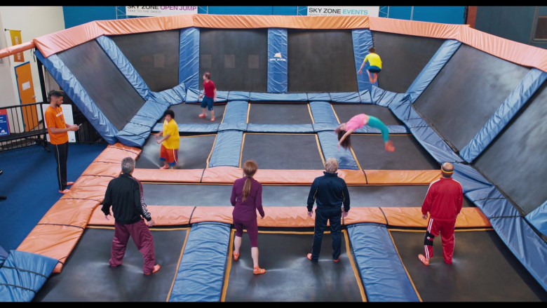 The War with Grandpa Filming Location – Sky Zone Indoor Trampoline Park (1)
