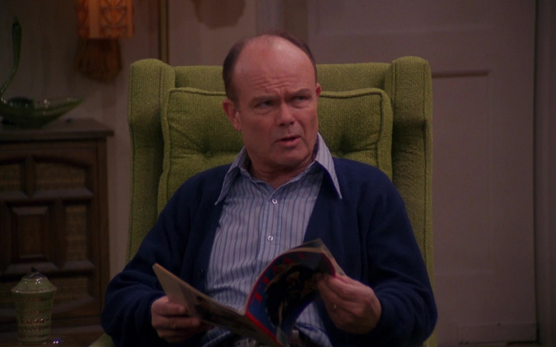 Time Magazine Held by Kurtwood Smith as Red Forman in That '70s Show S03E09