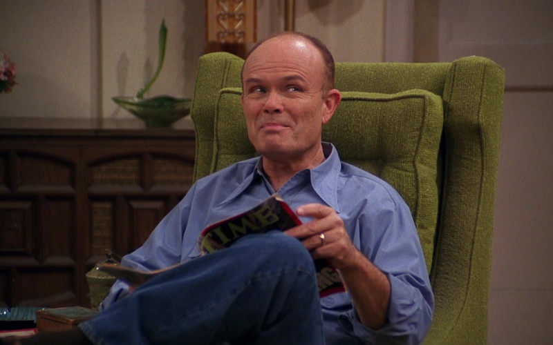 Time Magazine of Kurtwood Smith as Red in That '70s Show S04E14