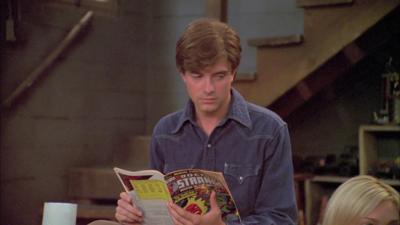 Topher Grace as Eric Reads Marvel Comics Doctor Strange in That '70s Show