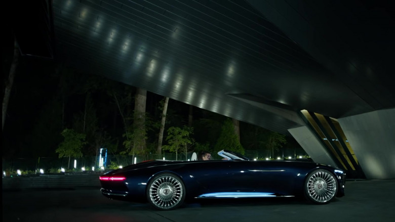 """Vision Mercedes-Maybach 6 Cars of Drake in """"Laugh Now Cry Later"""" Music Video (2)"""