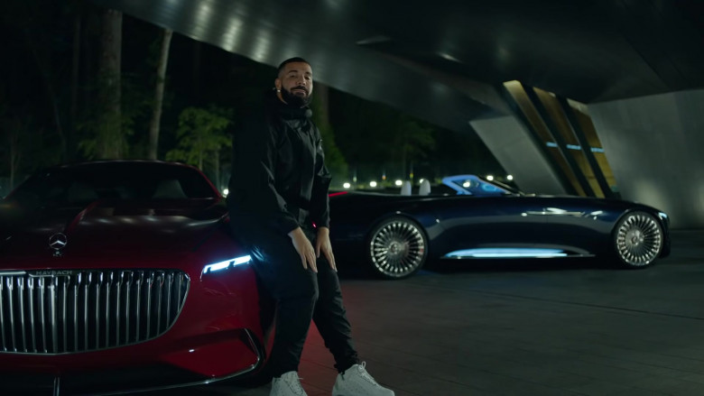 """Vision Mercedes-Maybach 6 Cars of Drake in """"Laugh Now Cry Later"""" Music Video (4)"""