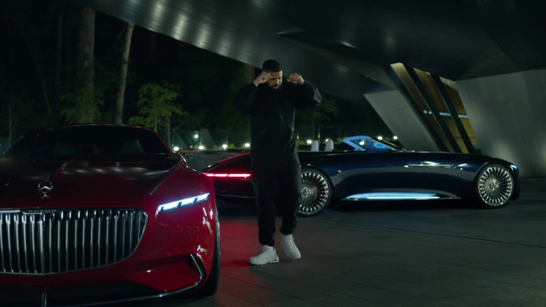 """Vision Mercedes-Maybach 6 Cars of Drake in """"Laugh Now Cry Later"""" Music Video (5)"""