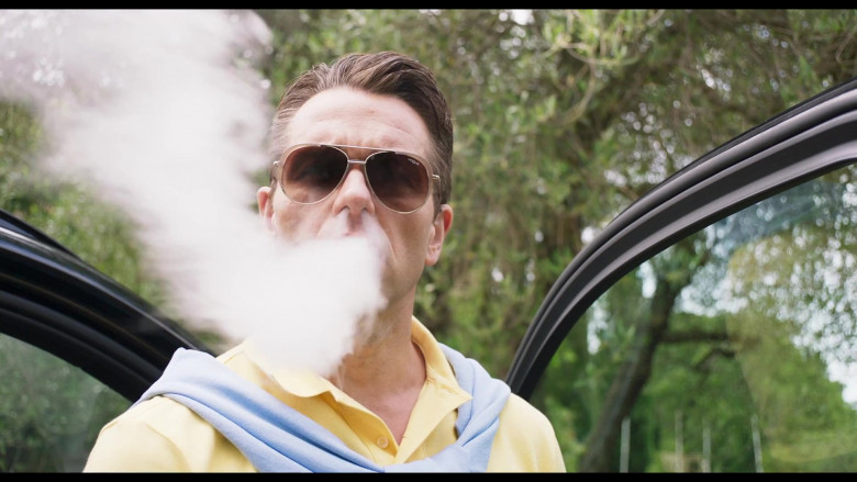 Vogue VO4097S Men's Sunglasses in Made in Italy Movie (2)