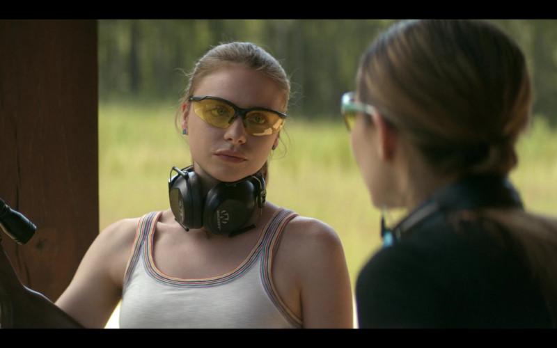 Walker's Black Ear Muffs of Maddie Phillips as Sterling in Teenage Bounty Hunters TV Show