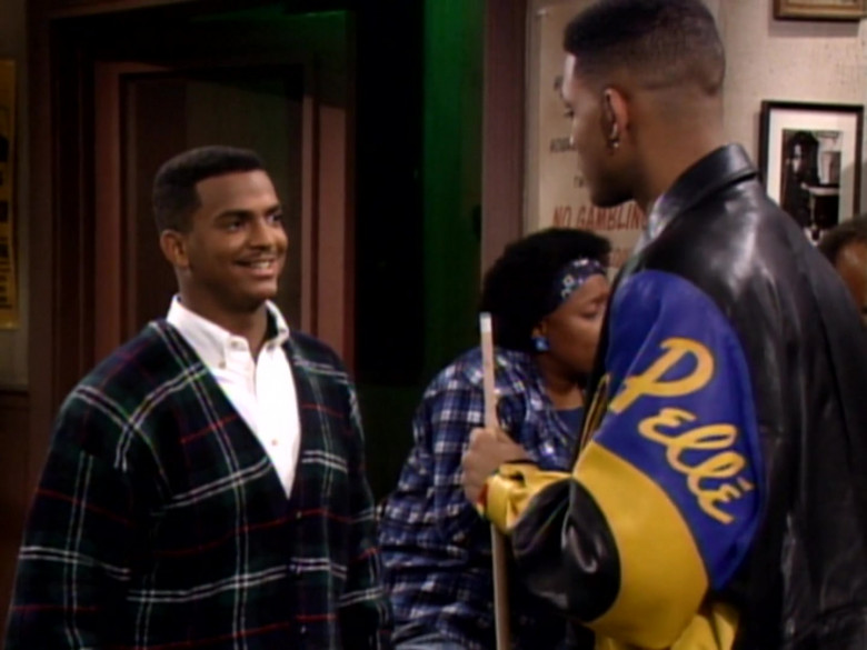 Will Smith Wears Pelle Pelle Black-Blue-Yellow Leather Jacket in The Fresh Prince of Bel-Air TV Series (4)