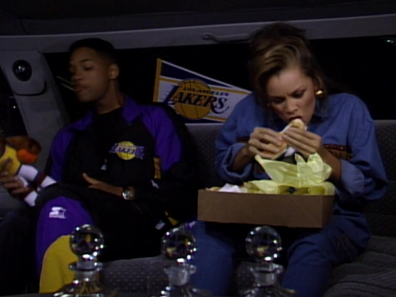Will Smith Wears Starter Los Angeles Lakers Tracksuit Outfit (1)