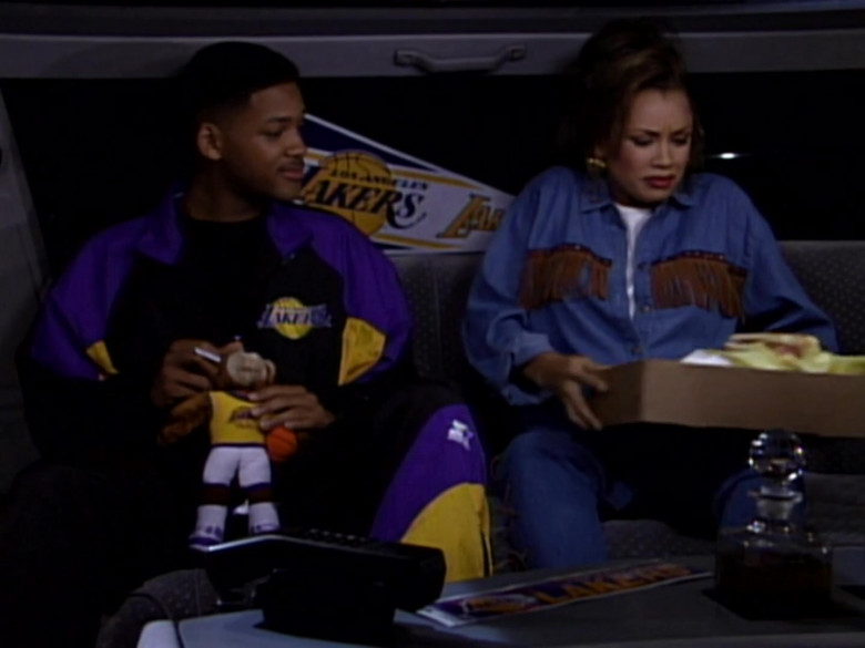 Will Smith Wears Starter Los Angeles Lakers Tracksuit Outfit (2)