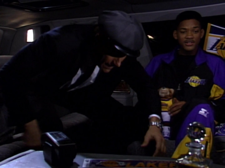 Will Smith Wears Starter Los Angeles Lakers Tracksuit Outfit (3)