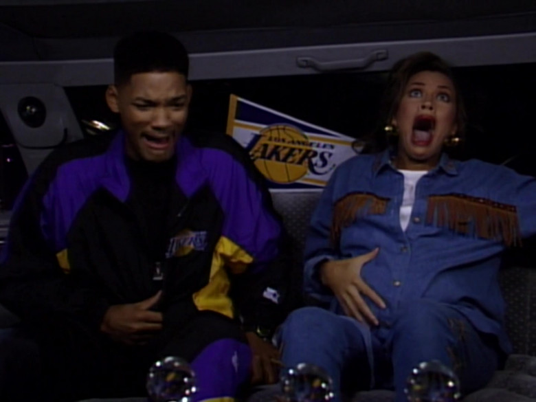 Will Smith Wears Starter Los Angeles Lakers Tracksuit Outfit (6)