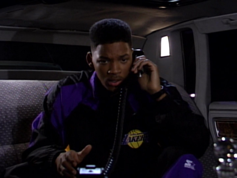 Will Smith Wears Starter Los Angeles Lakers Tracksuit Outfit (7)