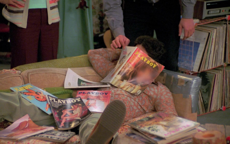 Wilmer Valderrama as Fez Reads Playboy Magazines in That '70s Show S07E05 (1)
