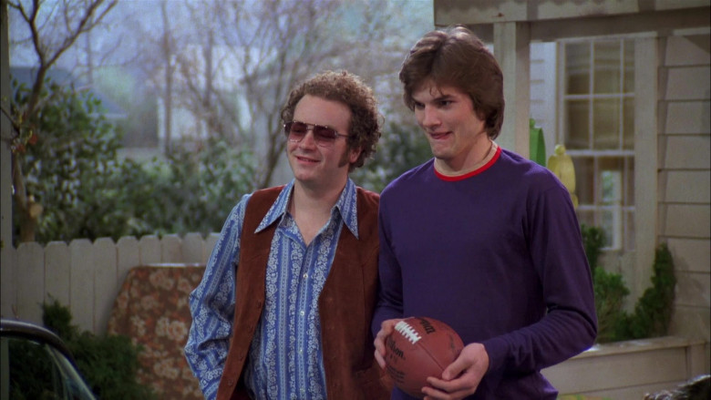 Wilson NFL Football of Ashton Kutcher as Michael in That '70s Show (2)
