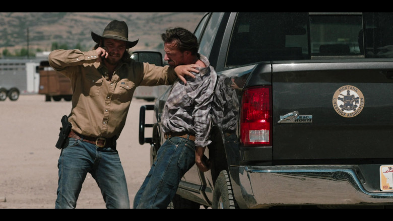 Wrangler Shirt Outfit of Luke Grimes in Yellowstone TV Show (3)