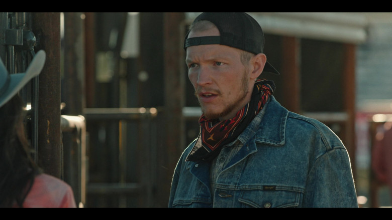 Yellowstone S03E10 Outfits – Wrangler Denim Jacket Worn by Jefferson White as Jimmy (1)