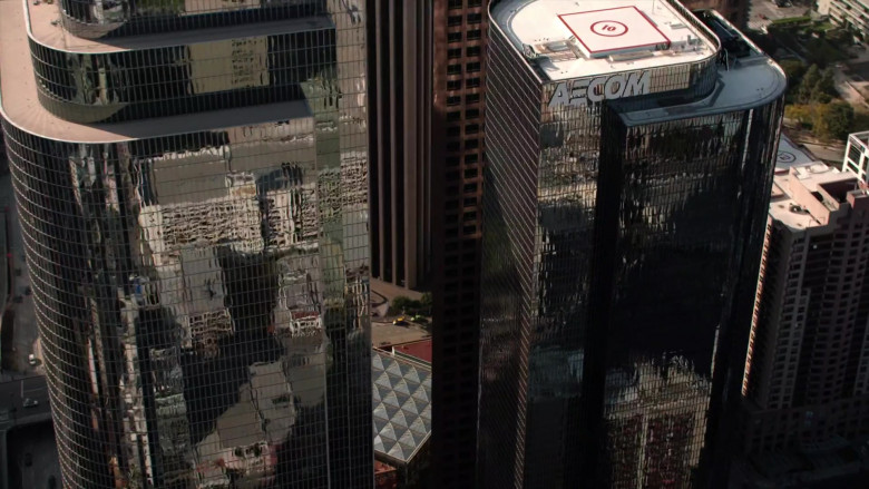 AECOM Engineering Company Building in L.A.'s Finest S02E07