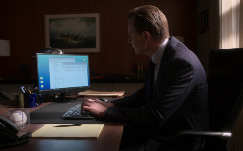 AOC Monitor Used by Shane Johnson as Cooper Saxe in Power Book II Ghost S01E01 (1)