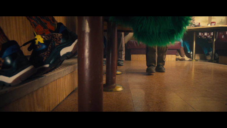 ASH ADDICT Leopard Print Pony Hair & Black Mesh Sneakers of Barbie Ferreira as Bailey in Unpregnant (1)