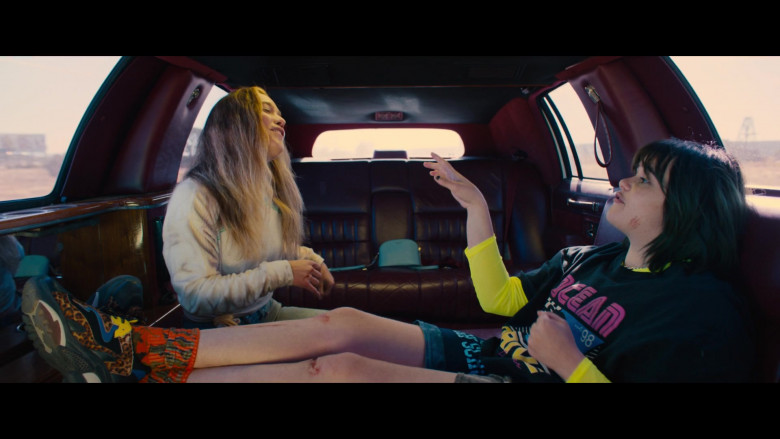 ASH ADDICT Leopard Print Pony Hair & Black Mesh Sneakers of Barbie Ferreira as Bailey in Unpregnant (2)