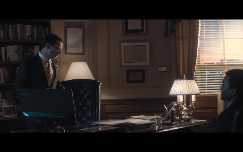 Acer Monitor Used by Actor Scoot McNairy as Rod Rosenstein in The Comey Rule Night Two (1)