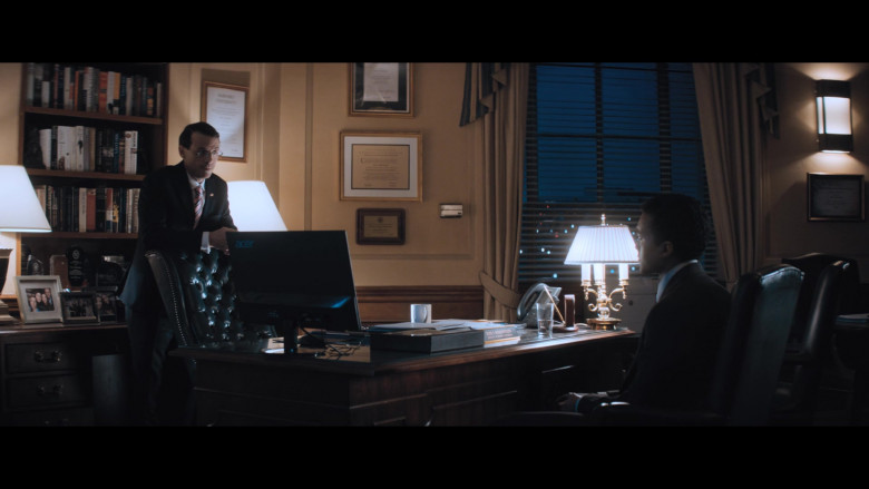 Acer Monitor Used by Actor Scoot McNairy as Rod Rosenstein in The Comey Rule Night Two (2)