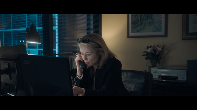 Acer Monitor of Jennifer Ehle as Patrice Comey in The Comey Rule Night One 2020 (1)