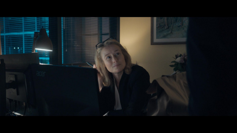 Acer Monitor of Jennifer Ehle as Patrice Comey in The Comey Rule Night One 2020 (2)
