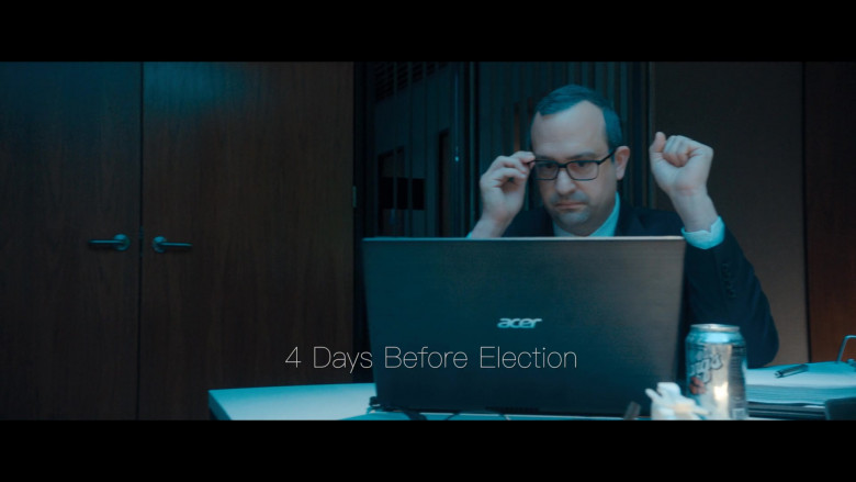 Acer Notebook and Barq's Root Beer in The Comey Rule Night One (2020)