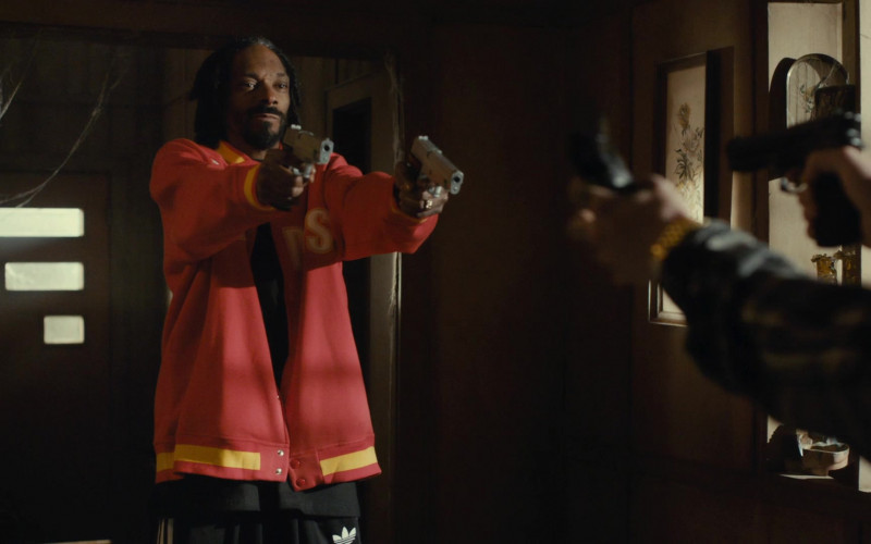 Adidas Black Track Pants of Snoop Dogg as Ja'Marcus in Scary Movie 5 (2)