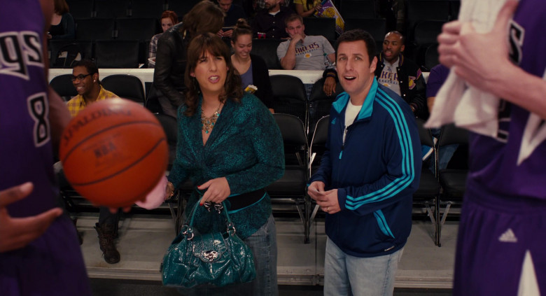 Adidas Blue Tracksuit Jacket Outfit of Adam Sandler as Jack in Jack and Jill Movie (1)
