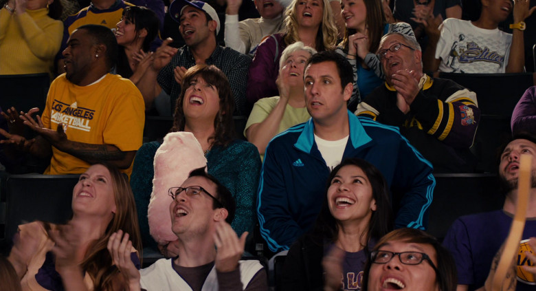 Adidas Blue Tracksuit Jacket Outfit of Adam Sandler as Jack in Jack and Jill Movie (2)
