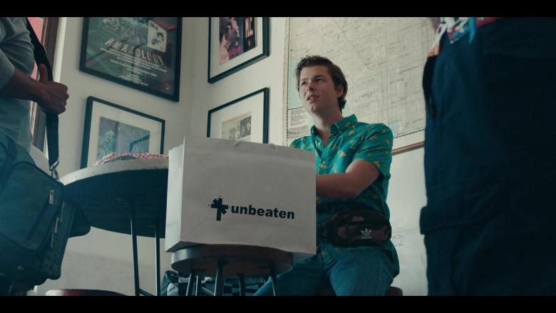 Adidas Camo Waist Bag of Matthew Josten as Stuey in Sneakerheads S01E02