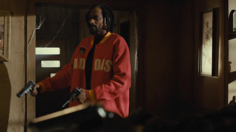 Adidas Jacket of Snoop Dogg as Ja'Marcus in Scary Movie 5 (4)
