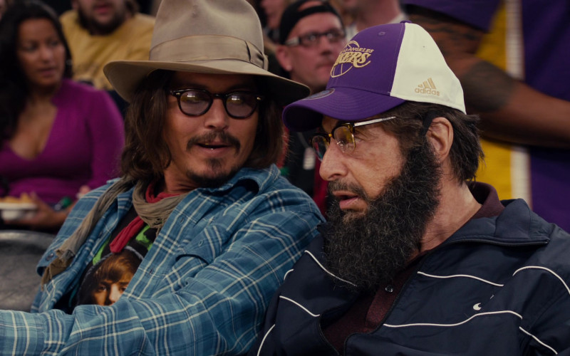 Adidas Los Angeles Lakers Cap of Al Pacino in Jack and Jill Movie