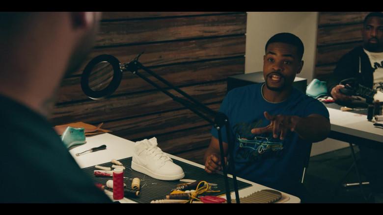 Air Jordan 1 Mid All-White Shoe in Sneakerheads S01E01 101 (2020)