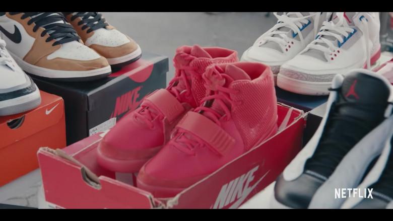 Air Jordan 1 Mid Shoes, Air Yeezy 2 Red October, Air Jordan 3, Air Jordan 13 Retro Sneakers in Sneakerheads Season 1 (2