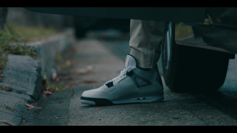 Air Jordan 4 Flight Nostalgia Nike Sneakers of Allen Maldonado as Devin in Sneakerheads Season 1 Episode 6 TV Show (1)