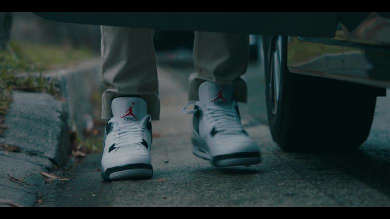 Air Jordan 4 Flight Nostalgia Nike Sneakers of Allen Maldonado as Devin in Sneakerheads Season 1 Episode 6 TV Show (2)